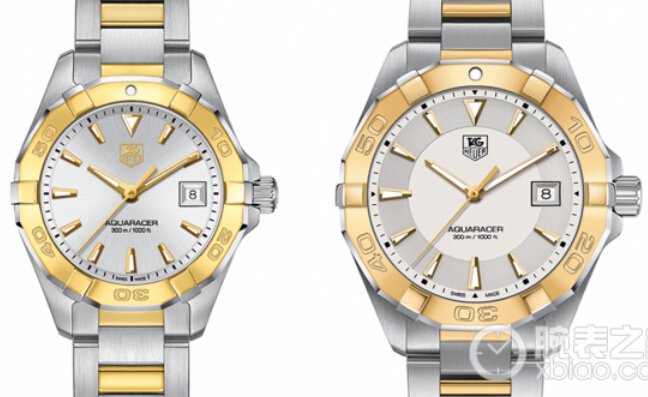 TAG Heuer Aquaracer 300M Automatic Gold stainless steel quartz watch (40.5mm & 27mm)