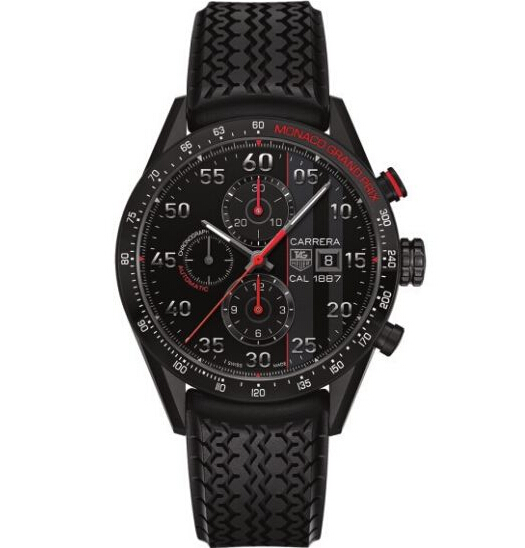 TAG Heuer Carrera Calibre 1887 Chronograph Monaco Grand Prix Limited Edition (43mm)