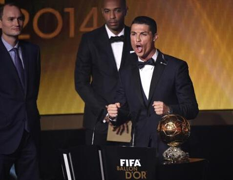 TAG Heuer Ambassador Cristiano Ronaldo Get Golden Globe Once Again