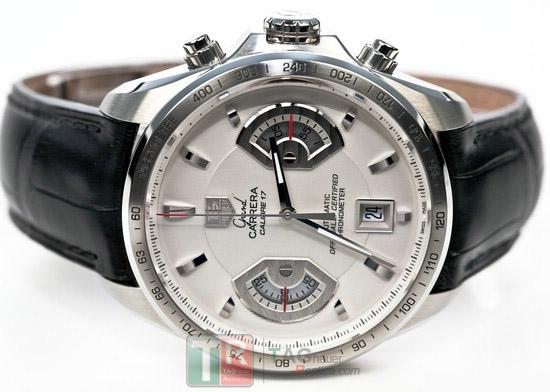 b6cb33c7a9f Replica TAG Heuer Grand Carrera Chronograph Calibre 17 RS Watch Review