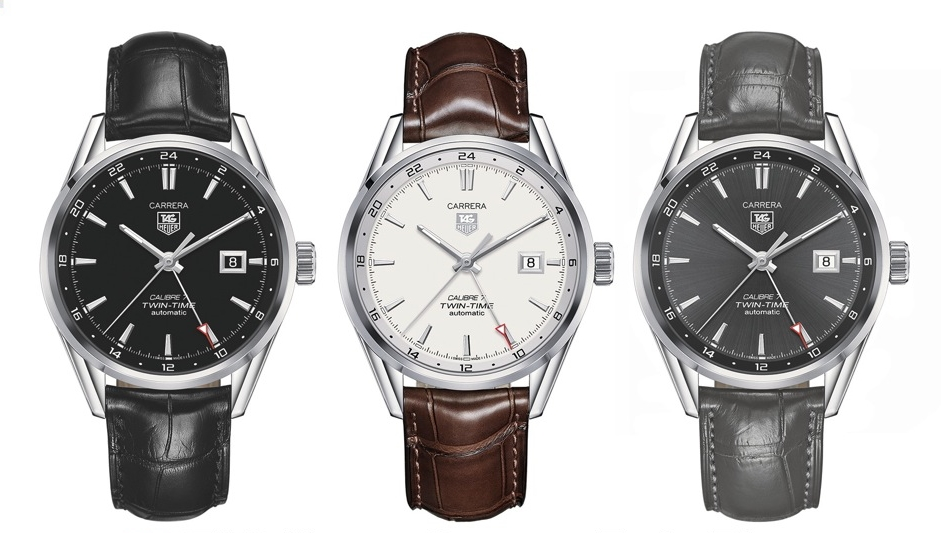 TAG Heuer Watch Review – TAG Heuer Carrera Calibre 7 Twin-Time Replica