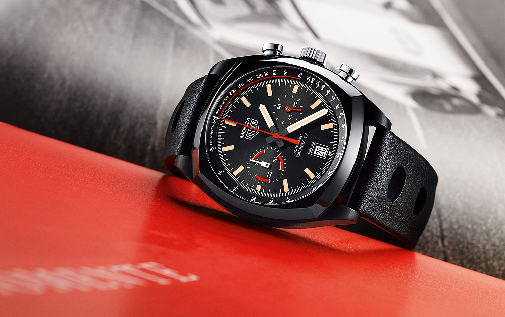 Retro Racer: TAG Heuer Monza Calibre 17 40th Edition 42mm Watch Replica