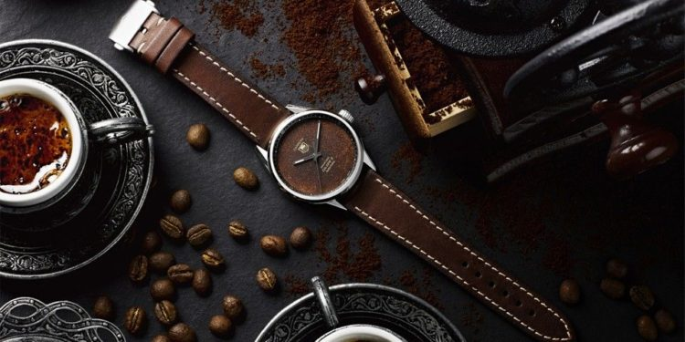 BWD and Badgerworks' TAG Heuer Carrera Calibre 5 Watch Replica With Tropical Coffee Dial