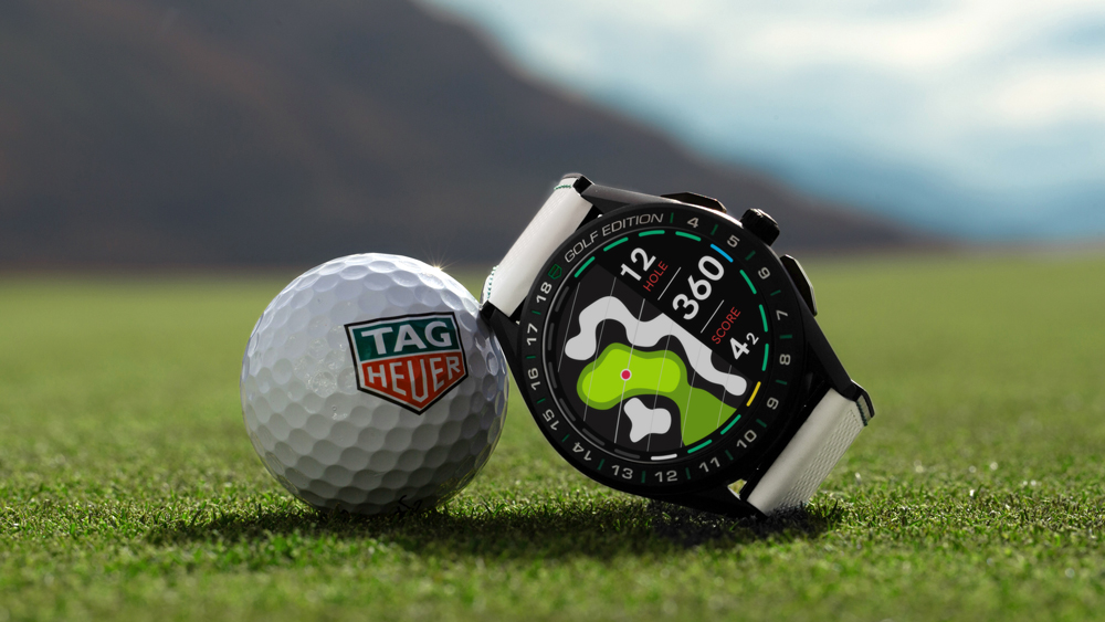 The Newest TAG Heuer Connected Golf Edition Smartwatch Replica Review