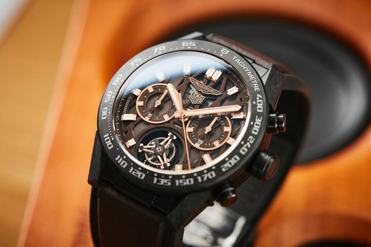 Review the TAG Heuer Carrera Heuer 02T 45mm Aston Martin Watch Replica