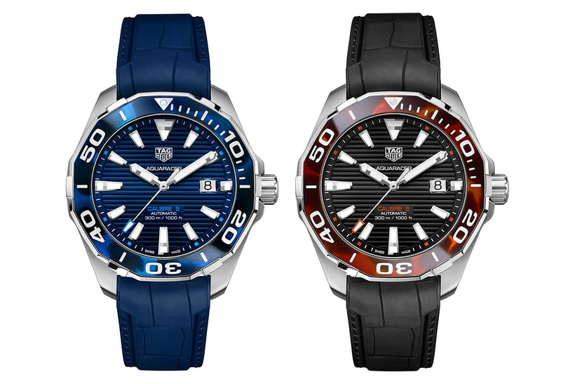 Introducing the TAG Heuer Aquaracer Tortoise Shell Effect Calibre 5 Automatic 43 MM Watch Replica