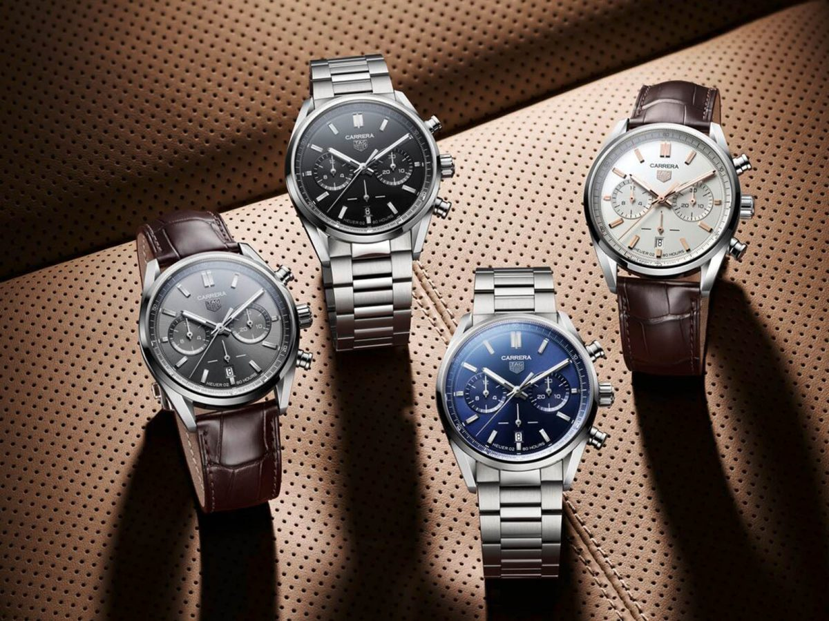 Three high quality and cheap replica Tag Heuer men's watches for Christmas