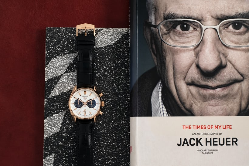 TAG Heuer Carrera Chronograph Jack Heuer Birthday Gold Limited Edition Replica