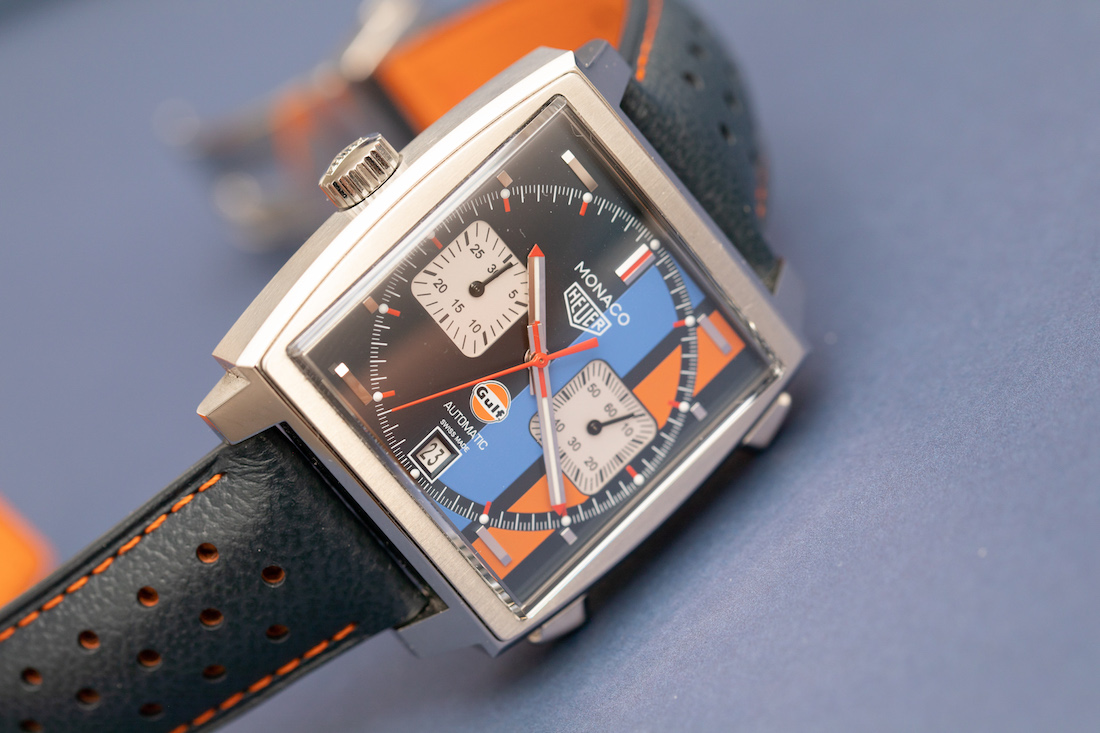 Review the TAG Heuer Monaco Gulf Calibre 11 39mm watch replica
