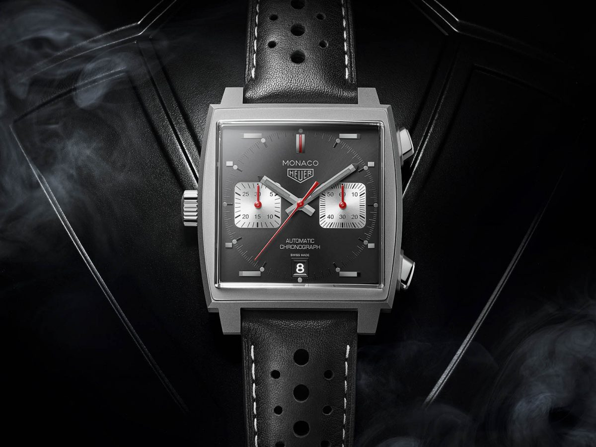 Introducing: TAG Heuer Monaco 2009-2019 Limited Edition Black Dial Watch Replica