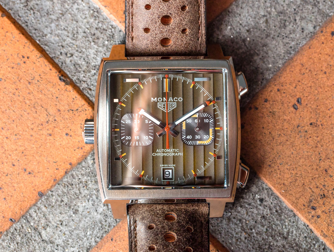 Hands on: The TAG Heuer Monaco 1969-1979 Limited-Edition Watch Replica