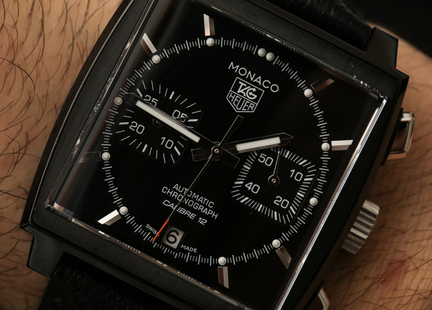 Review Tag Heuer Monaco Automatic 39 MM Black Case Watch Replica With Cheap Price