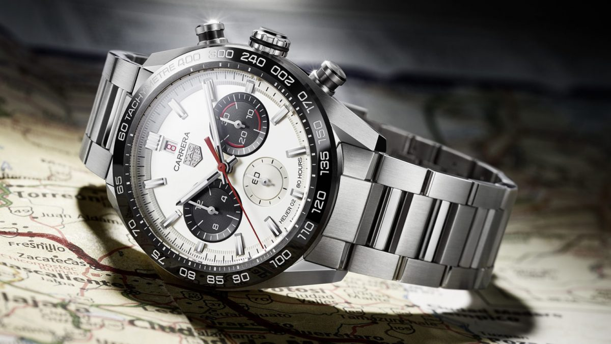 TAG Heuer has released TAG Heuer Carrera Sport Chronograph 160 Years Special Edition 44 MM Watch Replica