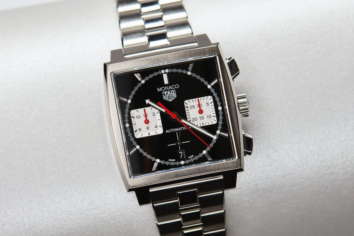 Launch of the new TAG Heuer Monaco Heuer 02 Black Dial 39 mm Watch Replica