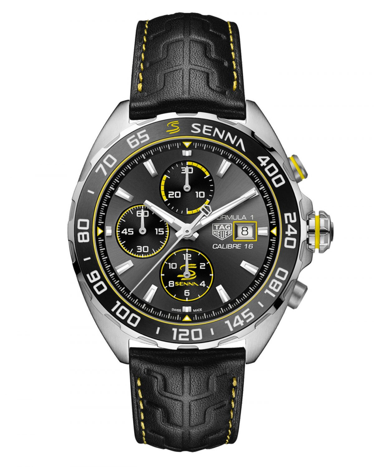 Inspired by Ayrton Senna TAG Heuer launches two new Ayrton Senna Formula 1 replica watches